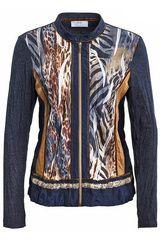 #JustWhite - vest met dierenprints #panterprint #luipaardprint #leopardprint #fall16 #winter17 #fashion #trends