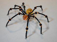 ~ Large Beaded Halloween Spider ~
