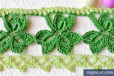 crochet trefoil lace edging can be added to just about any project (clothing, linens, pillowcases, baby blankets, afghans, scarves etc) out there.
