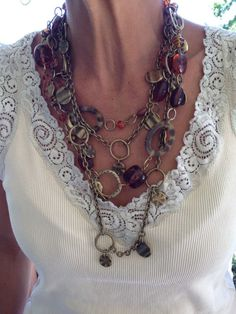 Honey and Shake It Up necklaces. Great combo!