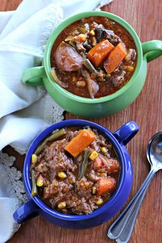 Slow Cooker Farmers Market Beef StewThe Magical Slow Cooker