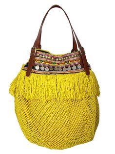 ELLIOT MANN INDY BAG yellow - Women , Taschen & Wallets , Taschen - NIK Fashion