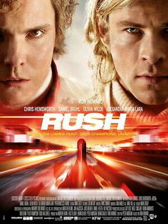 A biographical drama centered on the rivalry between Formula 1 drivers James Hunt and Niki Lauda during the 1976 Formula One motor-racing season. James Hunt, Ron Howard, Horror Picture Show, Rocky Horror Picture, Rush Movie, Movie Tv, Olivia Wilde, Grand Prix, Chris Hemsworth Movies