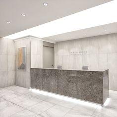 포트폴리오 Dental Office Decor, Dental Office Design, Office Interior Design, Office Interiors, Office Reception Area, Reception Desk Design, Counter Design, Lobby Design, Boutique Interior