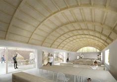 Tham & Videgård Design New Building for Denmark's Krabbesholm Højskole School of Art & Design
