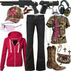 Cute camo country outfit