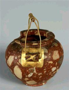 Vase 4th millennium BC. Ancient Egypt - Neolithic - Nagada                                                                                                                                                                                 More