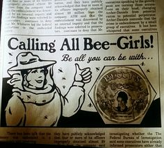 Pushing Daisies, Betty's Bees. Calling All Bee-Girls!