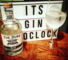 Its Gin O'clock with a little German gin tonight! @thedukegin #ginzealand #ginstagram #gin #craftgin #ginoclock #ginspiration #thedukegin #ginisthenewipa #ginandtonic #gintonictime