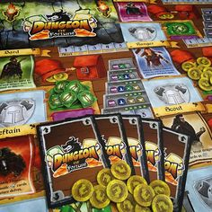 What's your favourite DUNGEON CRAWLER? You know we like our @tastyminstrel games, here's a nice little filler if you want to delve a dungeon, but don't have loads of time. #DungeonofFortune released last year from #TastyMinstrelGames and is a push your luck #dungeoncrawl game for 2-6 players. #TMG #boardgamer #tabletop #tabletopgamer #tabletopgame #boardgame #bgg #boardgamegeek #juegodemesa #gamesnight #boardgames  #dungeoncrawler #cardgame #fantasygame #dungeonroll