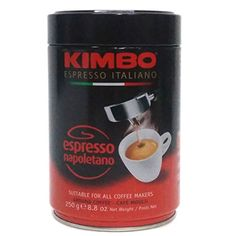 Kimbo Espresso Italiano Espresso Napoletano Ground Coffee 88 oz Pack of 6 -- Check out the image by visiting the link. (This is an affiliate link and I receive a commission for the sales)