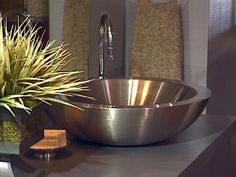 Installing a Vessel Sink : How-To : DIY Network