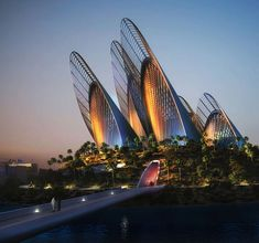 Zayed National Museum, Abu Dhabi, by Foster + Partners. The Zayed National Museum tells the story of Sheikh Zayed bin Sultan Al Nahyan (1918–2004), his unification of the United Arab Emirates, the long history of the region and its cultural connections across the world. The Abu Dhabi Government just gave the green light to restart this project. Not sure of the completion date, but should be 2014 or 2015