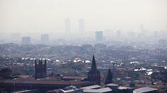 La contaminación del aire casi se duplica en Barcelona los días de huelga de metro