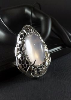 Jewels House Carved Mid Night Black Onyx Oval Gemstone Silver Plated Handmade Statement Carving Ring US-8.75