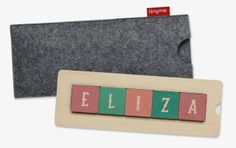 Children's name blocks from Tinyme