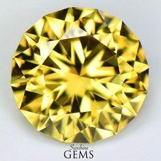 MJ3019 1.93ct Yellow Zircon $135