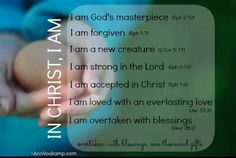 In Christ, I am... - Ann Voskamp