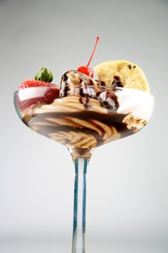 Chocolate Ice Cream Sundae