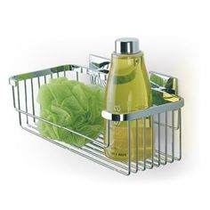 Accesorios de baño LUK sin taladro |Esponjera gel nº 15 Luk adhesivos sin agujeros