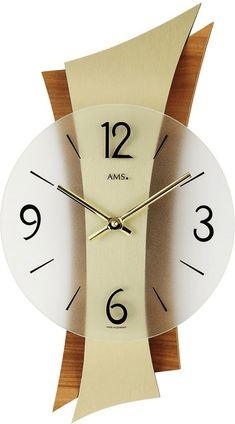 Wall Clock Wooden, Wood Clocks, Homemade Clocks, Clock Painting, Unusual Clocks, Wall Clock Design, Diy Clock, Diy Furniture Projects, Messing