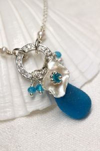 sold-seaglass-gallery - Katie Carrin ~ Artisan Crafted Sea Glass Jewelry with Gemstones and Pearls