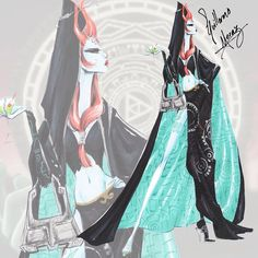 """Princess Midna"" From The Legend Of Zelda - Nintendo Princess Collection"