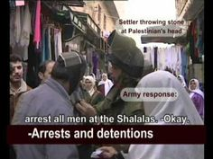 documentary - Strife in Hebron - violence escalates against Palistinians - also see article: http://www.examiner.com/article/hebron-settlers-embrace-fratricide-city-of-the-patriarchs