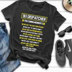 Retired Dispatcher Ltd Gildan Long Sleeve Tee T-Shirt