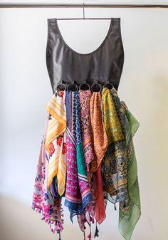 Perfect to show off those #AVON scarves. Sleek Silhouette Scarf Organizer, #ModCloth