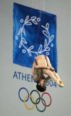 Hu Jia - Diving - Athens Olympics 2004 - Mens 10m Platform