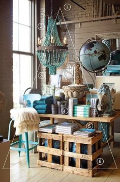 I'm always on the lookout for good visual merchandising images and this is one of my favourites. It's a good example of some basic vi...