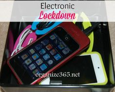 Works for Me Wednesday: Electronic Lockdown! | Organize 365