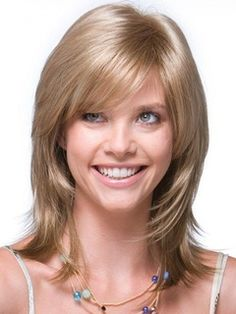 New+Fashion+Medium+Layered+Straight+Capless+Synthetic+Wig+14+Inches