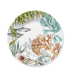 Coral Reef Salad Plate, Set of 4 #williamssonoma