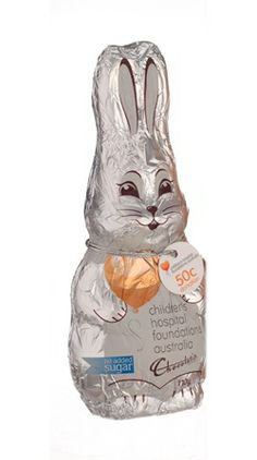 EAS209 - The Chocolatier Milk Chocolate Bunny Chfa New contains 20 units per box with a weight of 110G.