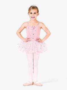 99db0e18439 Child Glitter Flower Camisole Tutu Dress. Glitter FlowersDance TightsAll  About DanceBallet GirlsSatin BowsDance ...
