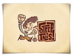 Case Study: Steep This! Visual Identity/Branding by jon stapp, via Behance