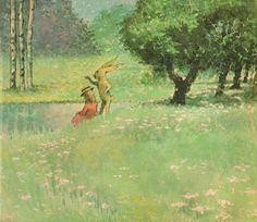 The Art of Children's Picture Books: Mr. Rabbit and the Lovely Present, Maurice Sendak