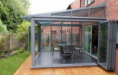 Create inside & outside living space. Aluminium Doors | Front Doors & Back Doors from Hazlemere Windows