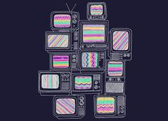 """""""Interference"""" - Threadless.com - Best t-shirts in the world. Totally gonna go with my new indie style"""