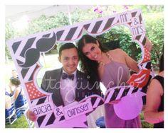Marco para fotos, bodas, letreros www.taguinche.com