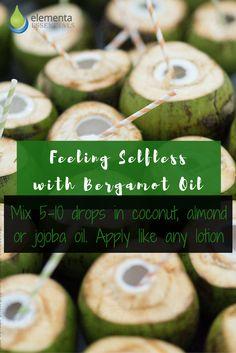 Filling Selfless with Bergamot Oil. elementaoils.com