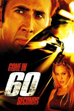 Gone in 60 Seconds (DVD, Nicolas Cage Angelina Jolie Robert Duvall action Robert Duvall, Film D'action, Bon Film, Film Serie, Go To Movies, Action Movies, Movies And Tv Shows, Movies Free, Action Film