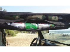 All Things Jeep - 6 Can Tube Kooler, Attaches to Roll Bar, from Vertically Driven Products