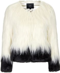 Love this: Womens Fire and Ice Faux Fur Jacket by Unreal Fur - Cream @Lyst