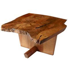 George Nakashima, Coffee/Side Table   1stdibs.com