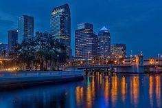 Bayshore Boulevard Ends, Tampa, Florida