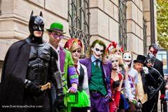 Animation Fnac pour la sortie d'Arkham City sur PS3/ Octobre 2011/ Photo: Dominique Secher #batman , #joker , #Harleyquinn , #Cosplay , #Comics , #catwoman , #pingouin , #harveydent , #sbire , #arkhamcity