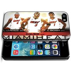 Basketball NBA MIAMI HEAT THRICE, JAMES WADE BOSH, Cool iPhone 5 5s Smartphone Case Cover Phoneaholic http://www.amazon.com/dp/B00TWQA4NG/ref=cm_sw_r_pi_dp_GLjnvb0825R6S